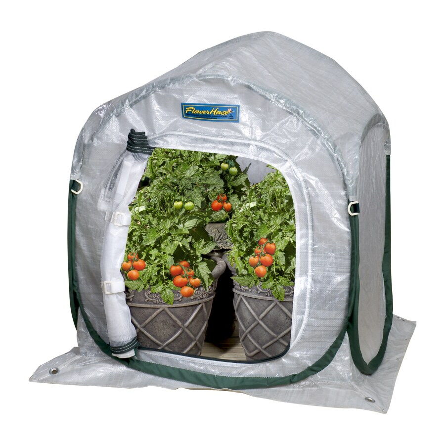 Flowerhouse 2-ft L x 2-ft W x 2.8-ft H Poly Sheeting Greenhouse