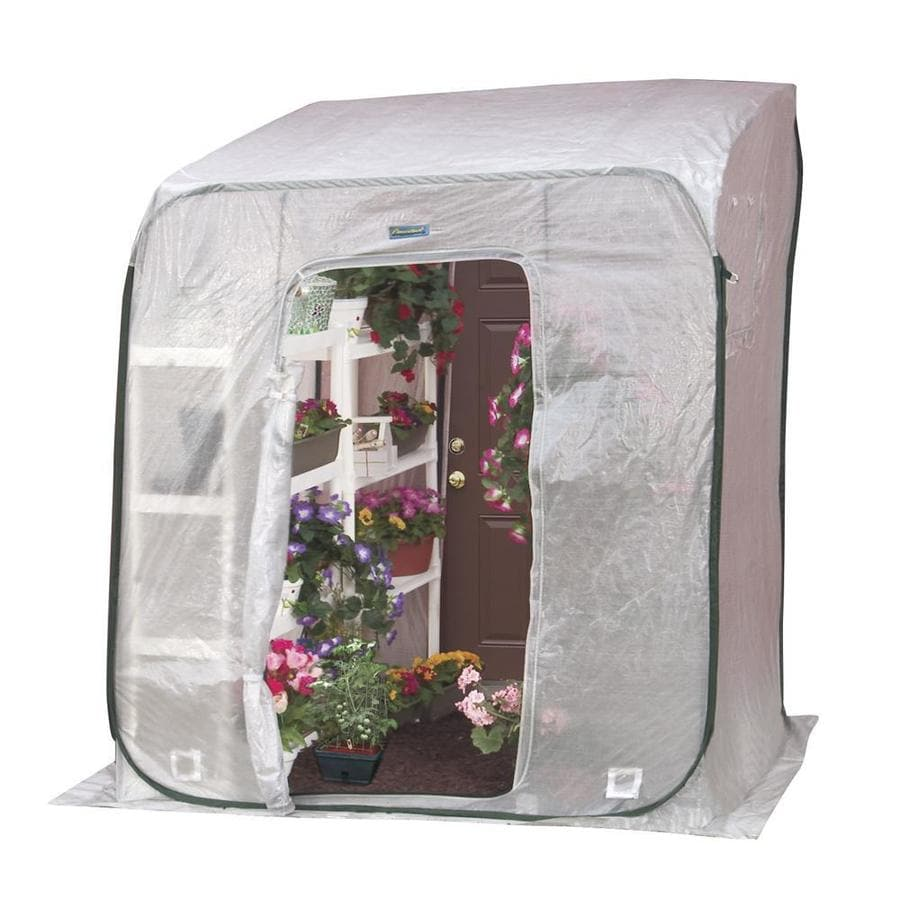 Flowerhouse 6-ft L x 6-ft W x 6.5-ft H Greenhouse