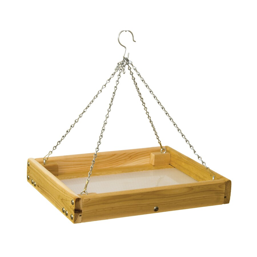 Stovall Products Stovall Wood Platform Bird Feeder