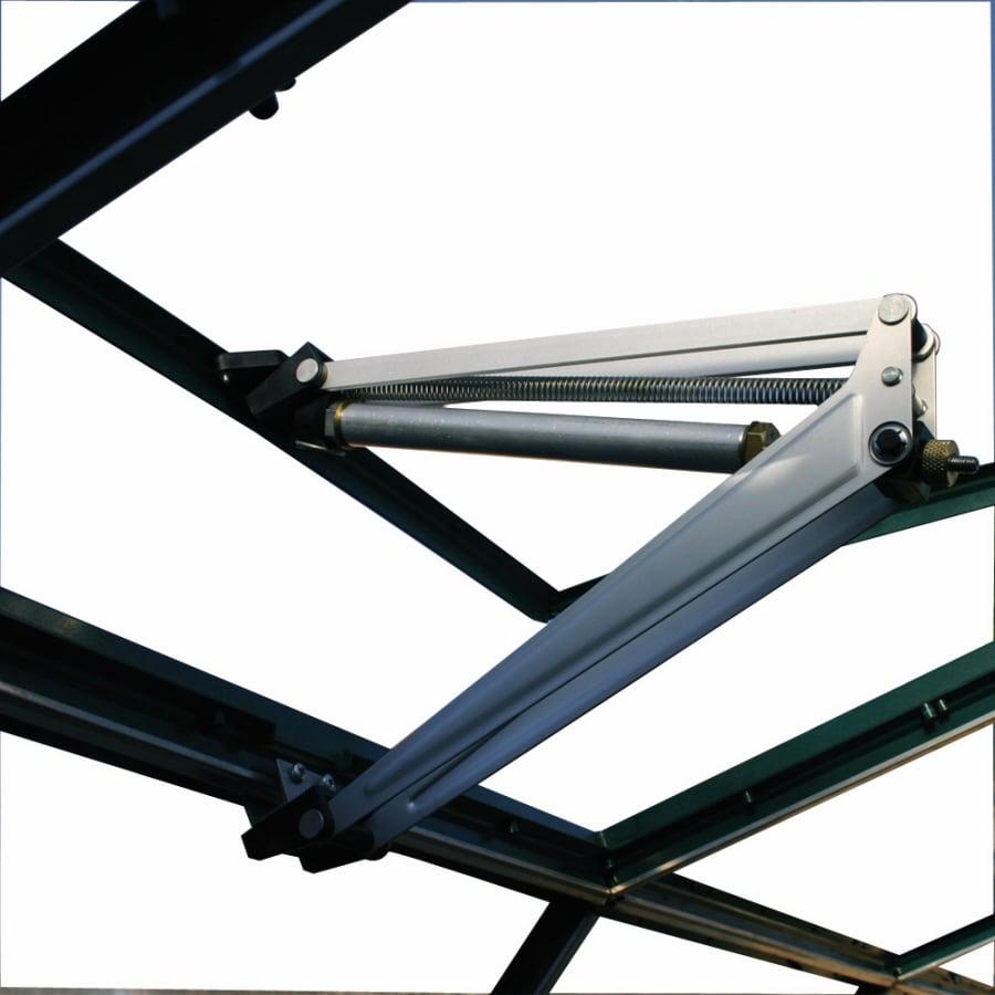 HobbyGrower 1.3125-ft L x 0.229-ft W x 0.166-ft H Metal Acrylic Greenhouse