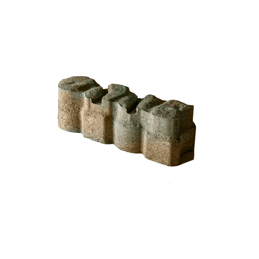 Tan/Charcoal Alameda Concrete Edging Stone (Common: 4-in x 12-in; Actual: 3.625-in H x 12-in L)
