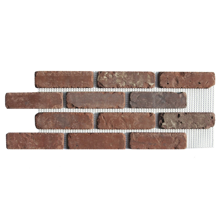 Shop brickweb brickweb 10 5 in x 28 in boston mill panel for 1 2 inch brick veneer