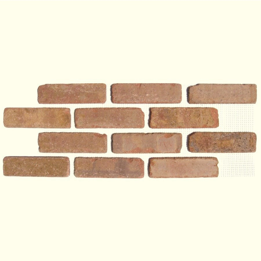 Brickweb Brickweb 10.5-in x 28-in Chattanooga Panel Brick Veneer