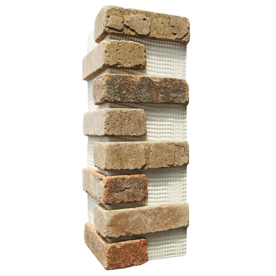 Brickweb Brickweb 3-Pack 7.625-in x 21-in Promontory Corner Sheet Brick Veneer Trim