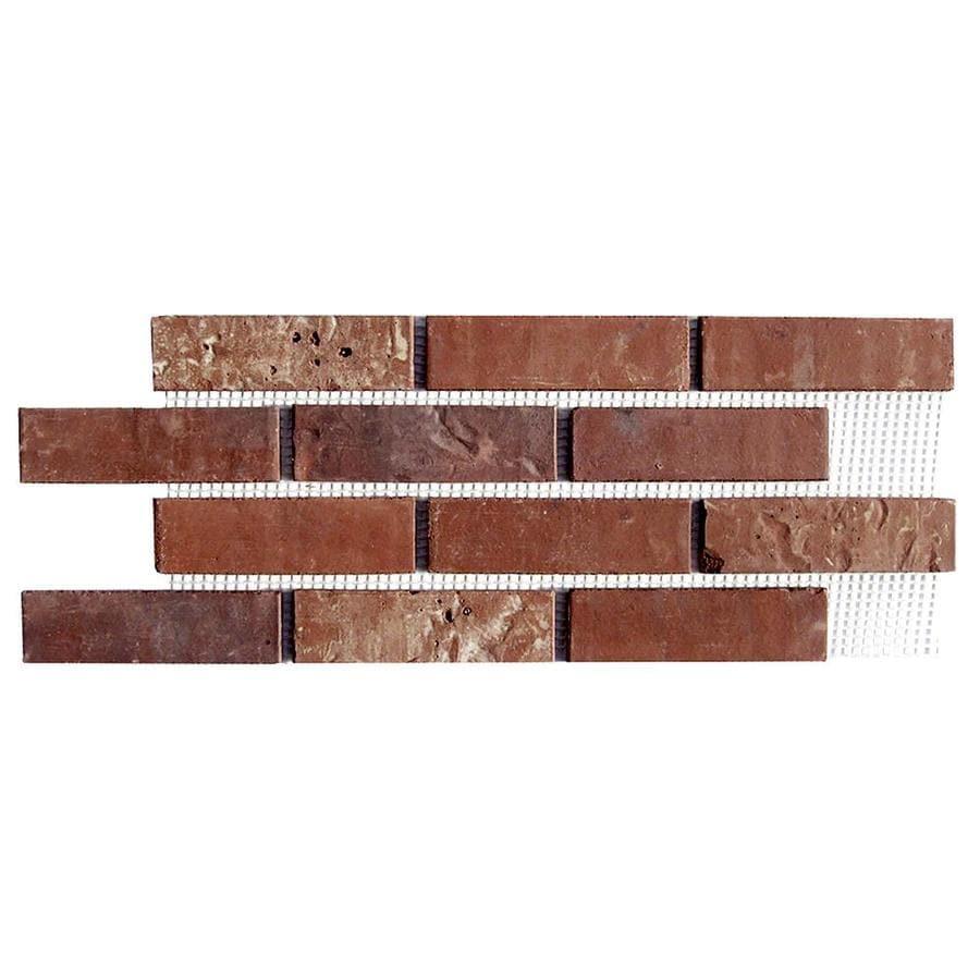 Brickweb Brickweb 10.5-in x 28-in Independence Panel Brick Veneer