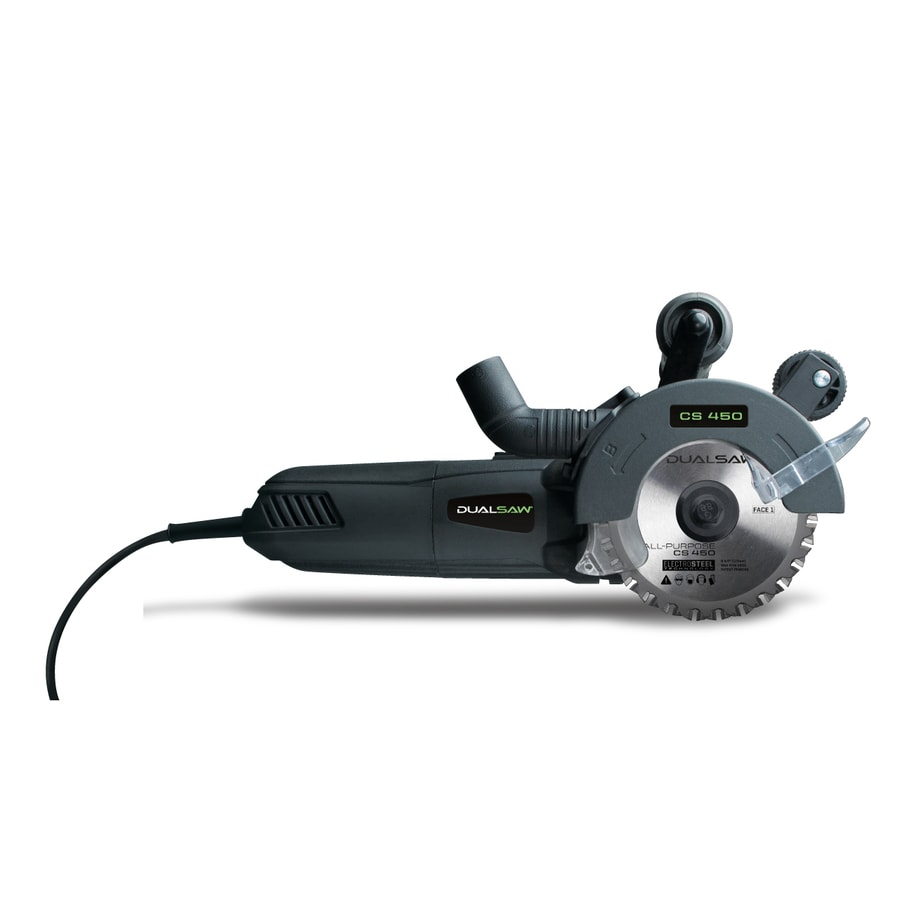 DualSaw 4.5-in Corded Circular Saw