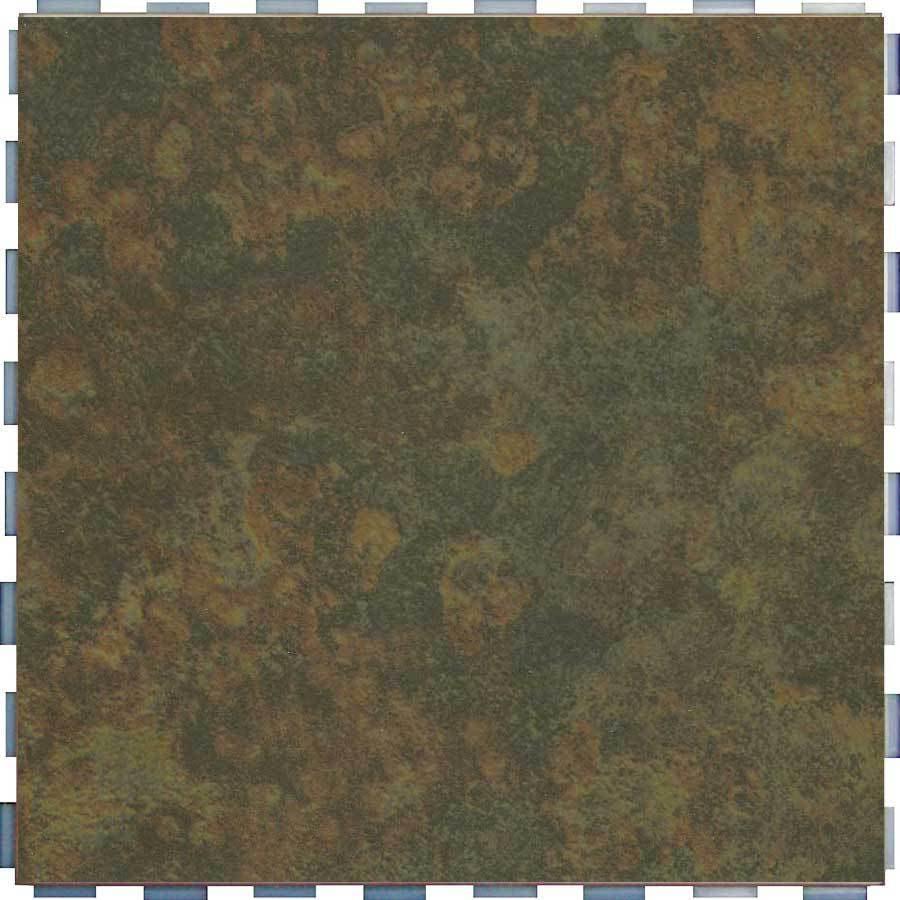 SnapStone Interlocking 5-Pack Moss Porcelain Floor Tile (Common: 12-in x 12-in; Actual: 12-in x 12-in)