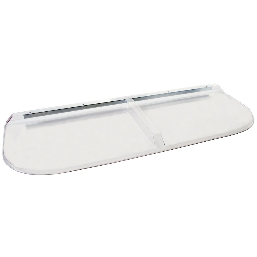 Shape Products 56-1/2-in x 20-3/4-in x 2-in Plastic Elongated Fire Egress Window Well Covers