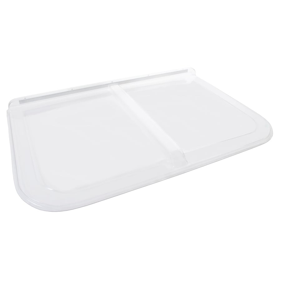 Shape Products 54-1/2-in x 38-in x 2-in Plastic Rectangular Fire Egress Window Well Covers