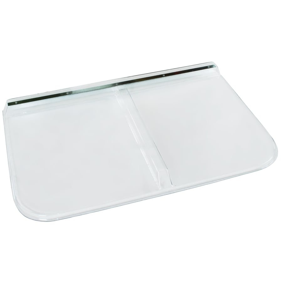 Shape Products 42-1/2-in x 26-in x 2-in Plastic Rectangular Fire Egress Window Well Covers