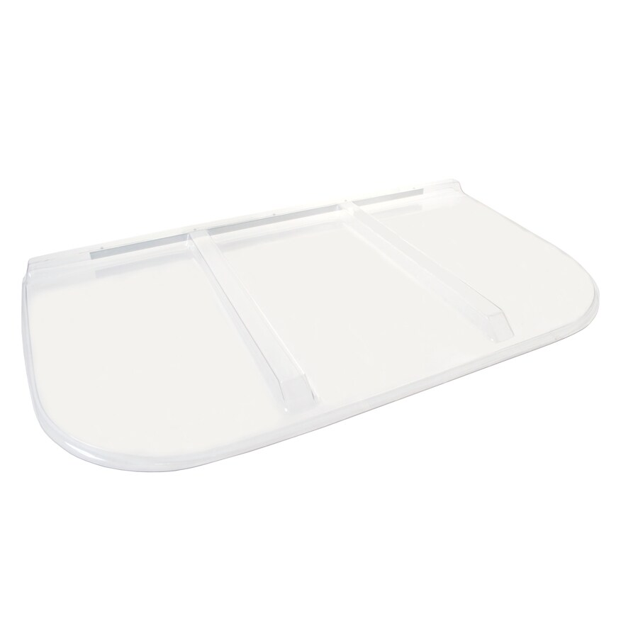 Shape Products 64-1/4-in x 38-1/4-in x 2-in Plastic U-Shaped Fire Egress Window Well Covers