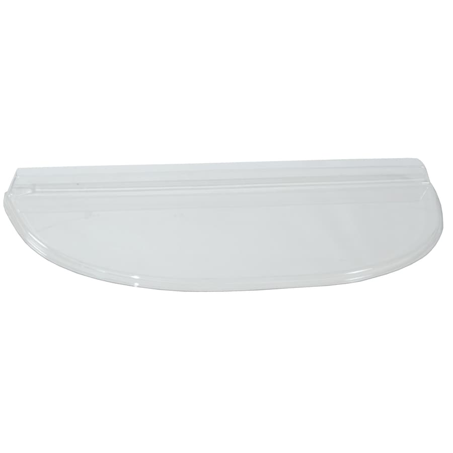 Shape Products 42-1/2-in x 21-1/2-in x 2-in Plastic U-Shaped Fire Egress Window Well Covers