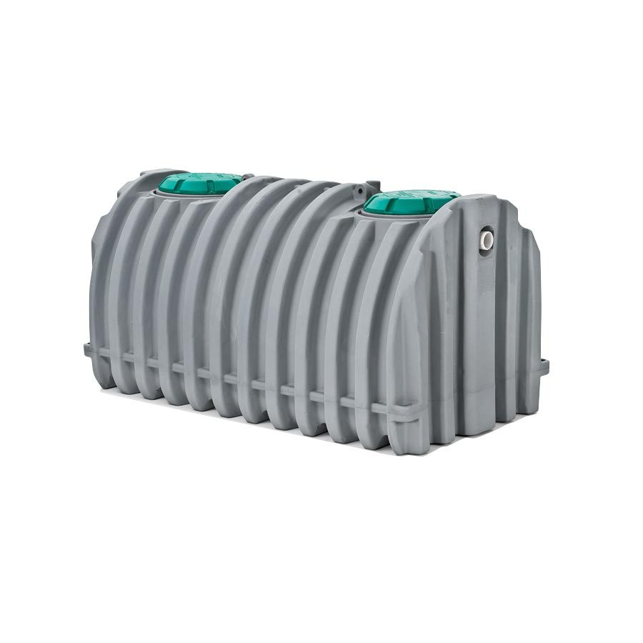 1050-Gallon Gray Polyresin Stock Tank