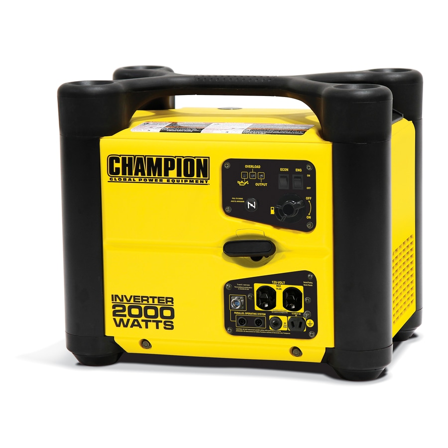Portable Propane Fuel Inverter Generator Portable Oxygen For You Portable Oxygen Concentrators Approved For Air Travel Portable Closet White: Shop Champion Power Equipment 1700-Running-Watt Inverter
