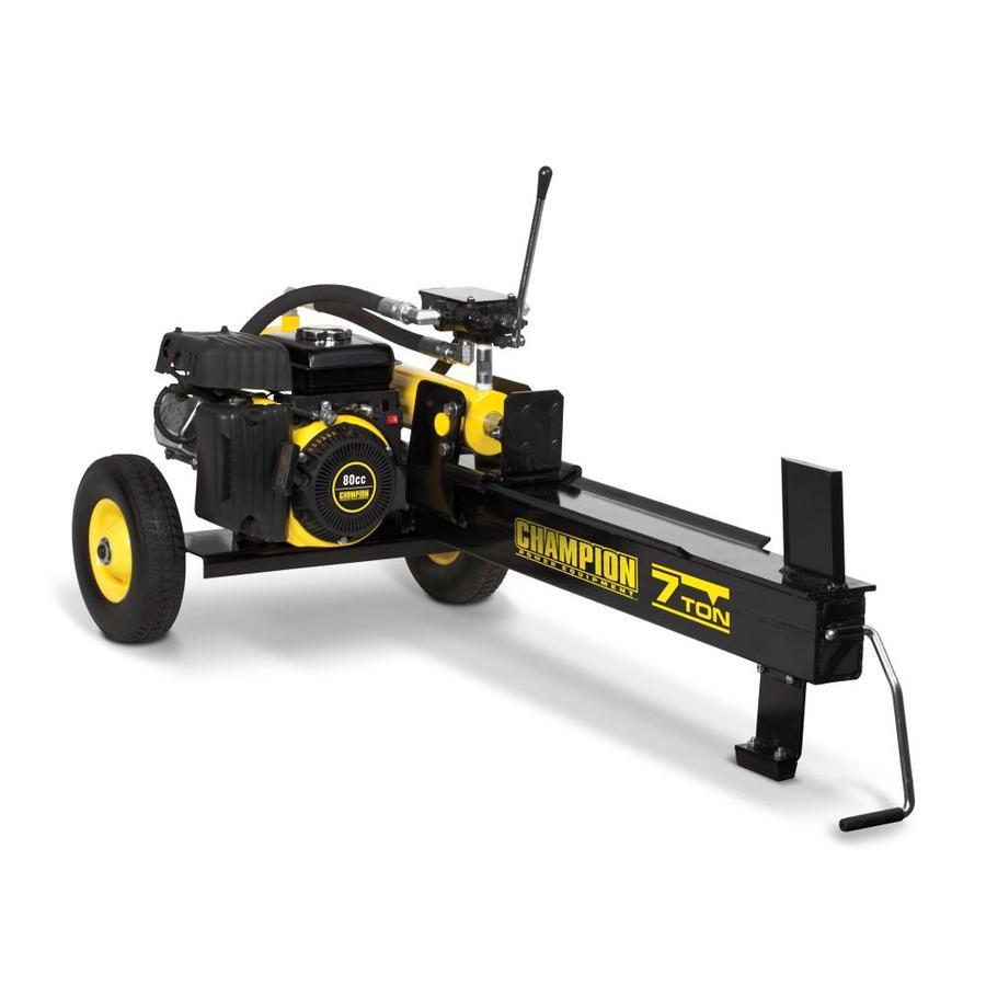 Shop Champion Power Equipment 7 Ton Gas Log Splitter At
