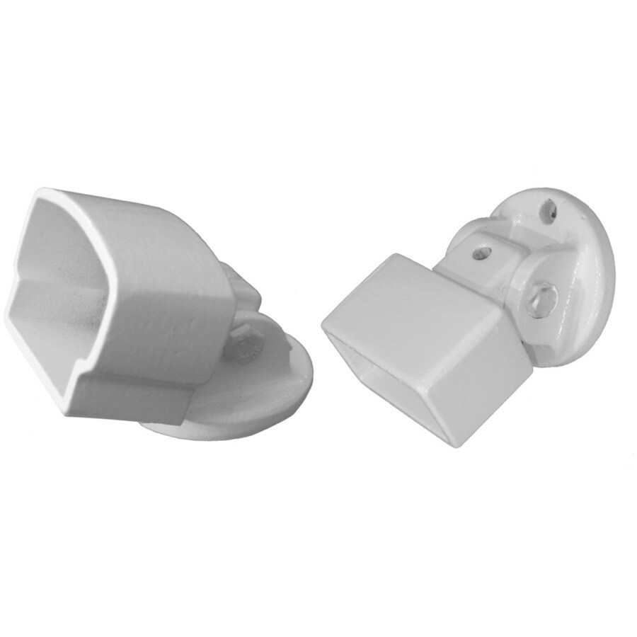 Wolf Handrail Aluminum Pivot Mount Kit - White