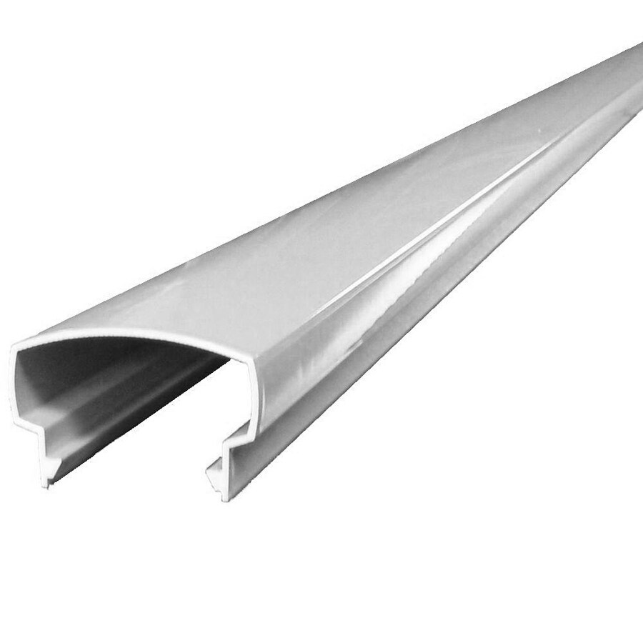 Wolf Handrail Top Rail Extrusion 8-ft Prefinished Aluminum Porch Handrail
