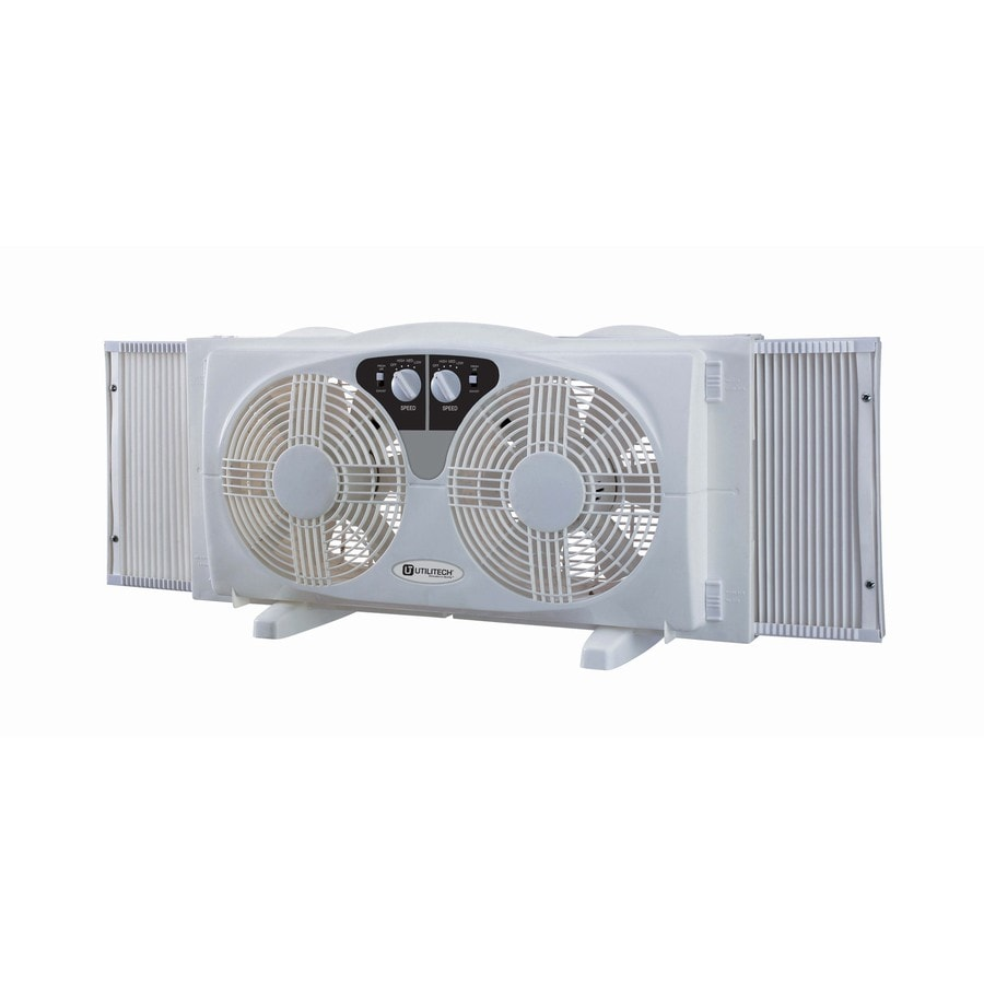 Utilitech 8-in 3-Speed Window Fan
