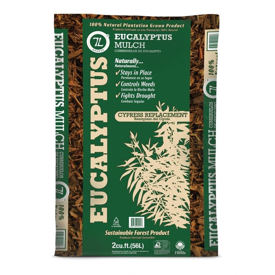 7L 2 cu ft Natural Eucalyptus Mulch