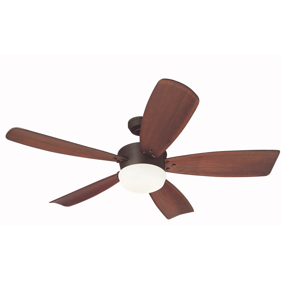 Harbor Breeze Saratoga 60-in Oil Rubbed Bronze Downrod Mount Indoor Ceiling Fan with Light Kit and Remote