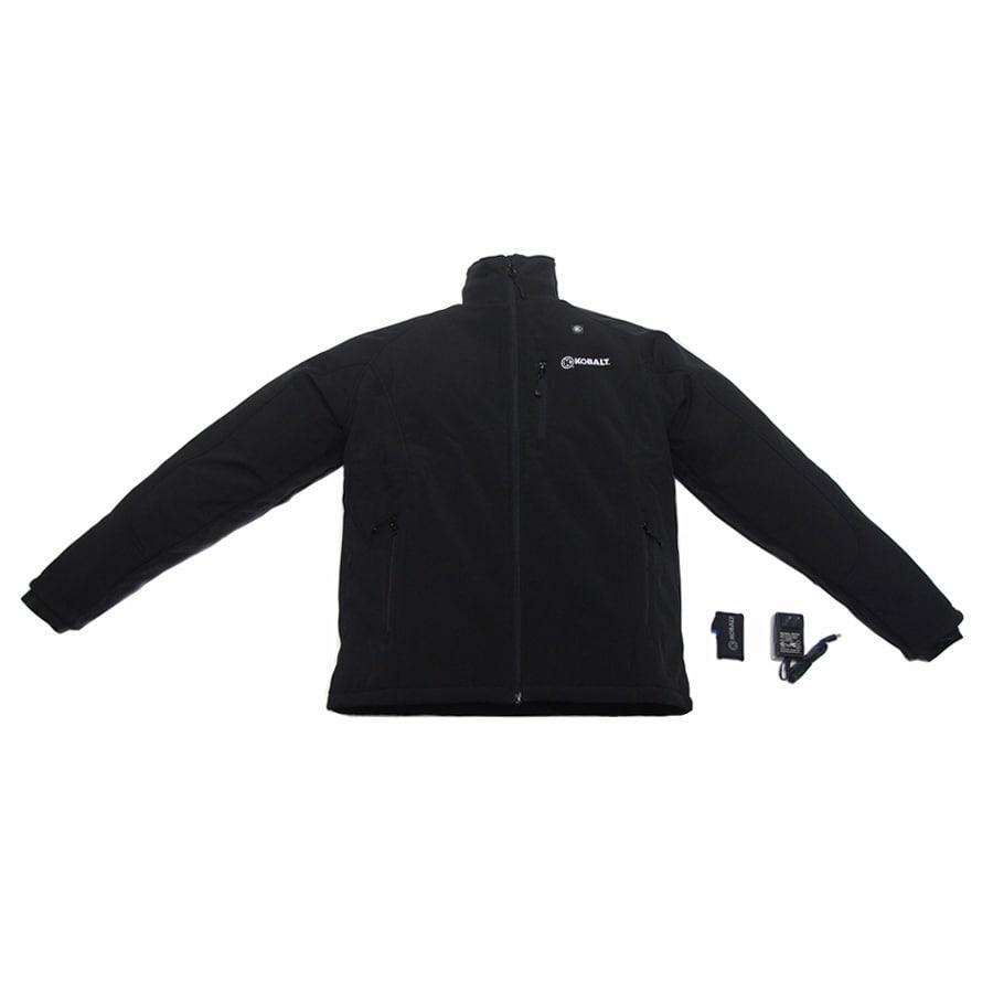 Kobalt X-Large Black/Woven Lithium Ion Heated Jacket