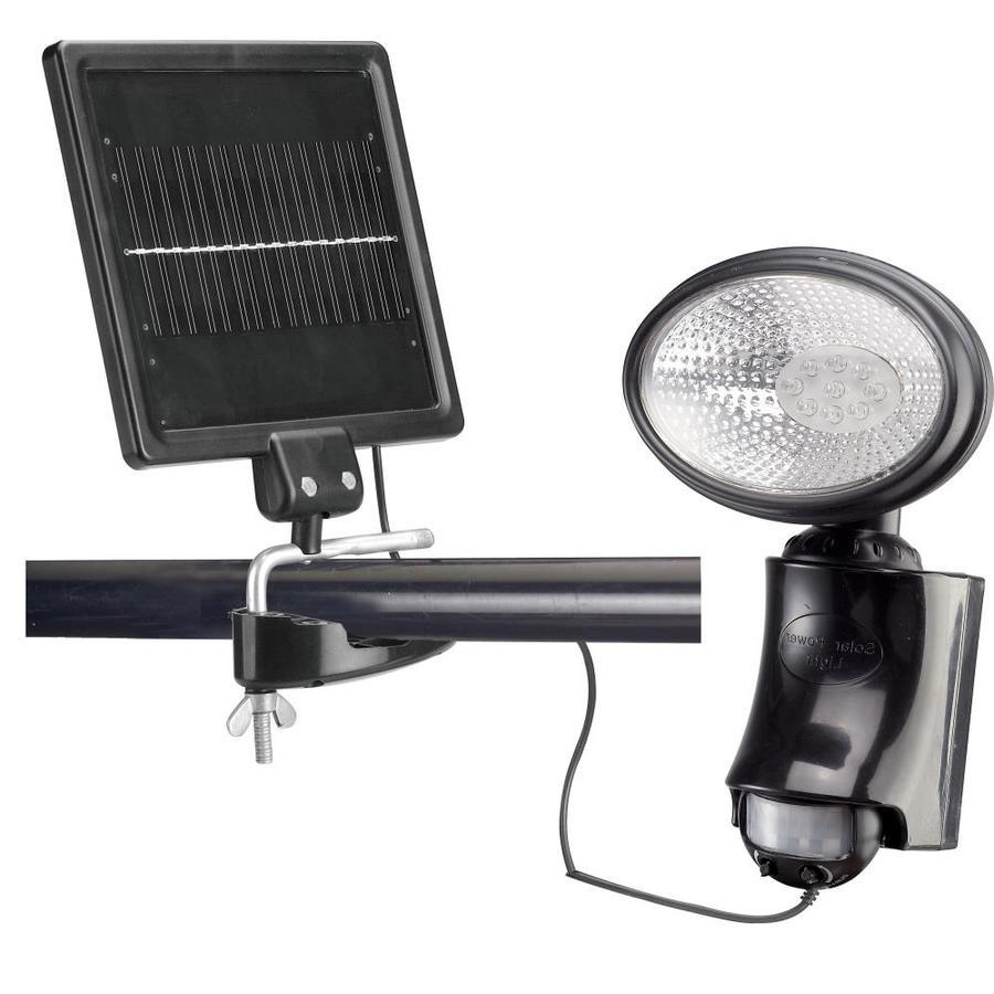 Classy Caps 24x 0.52-Watt Black Solar LED Landscape Flood Light with Motion Sensor