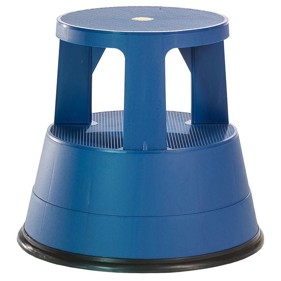 Xtend & Climb 2-Step Blue Plastic Step Stool