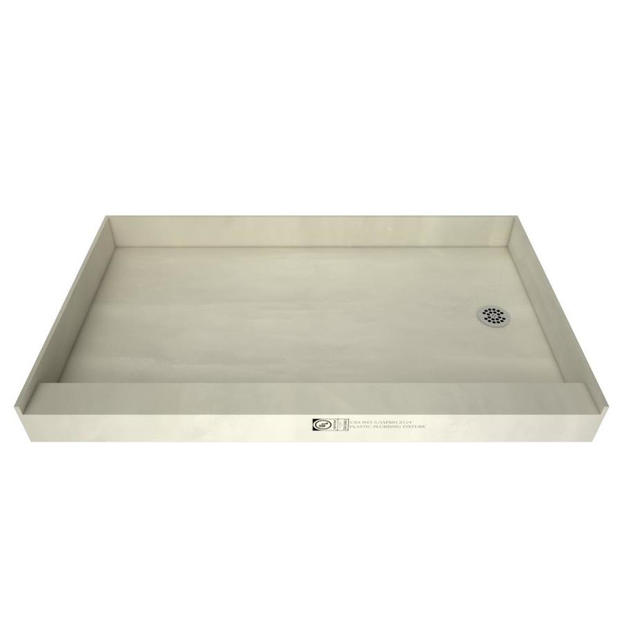 Shop Tile Ready Made For Tile Fiberglass And Plastic Shower Base Common 37 In W X 60 In L