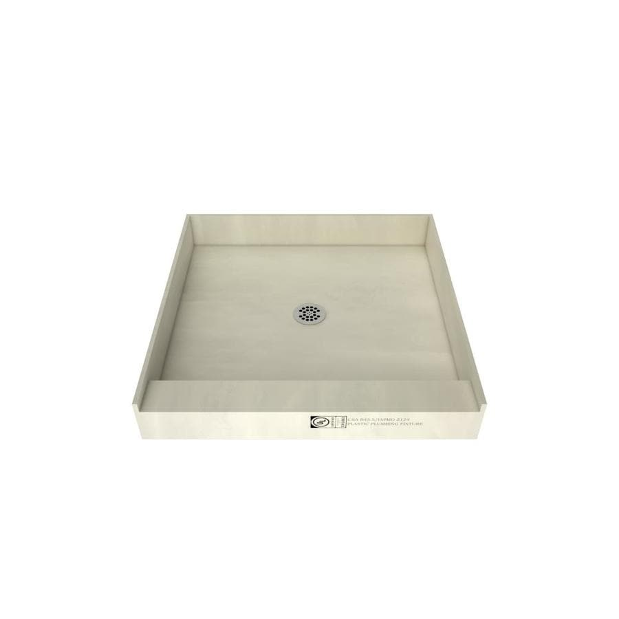 Tile Ready Made for Tile Fiberglass and Plastic Shower Base (Common: 42-in W x 42-in L; Actual: 42-in W x 42-in L)