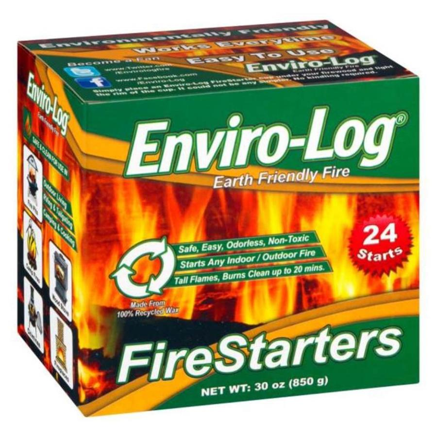 Enviro-Log 24-Pack 2.5-lb Firestarter