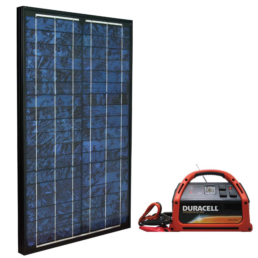 Duracell Duracell 12-Watt Solar Panel Battery Charge Control