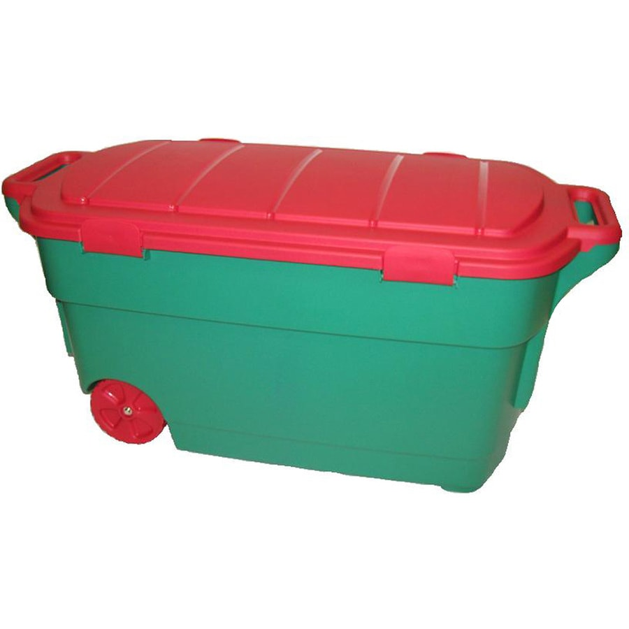 Centrex Plastics, LLC 45-Gallon Tote with Latching Lid
