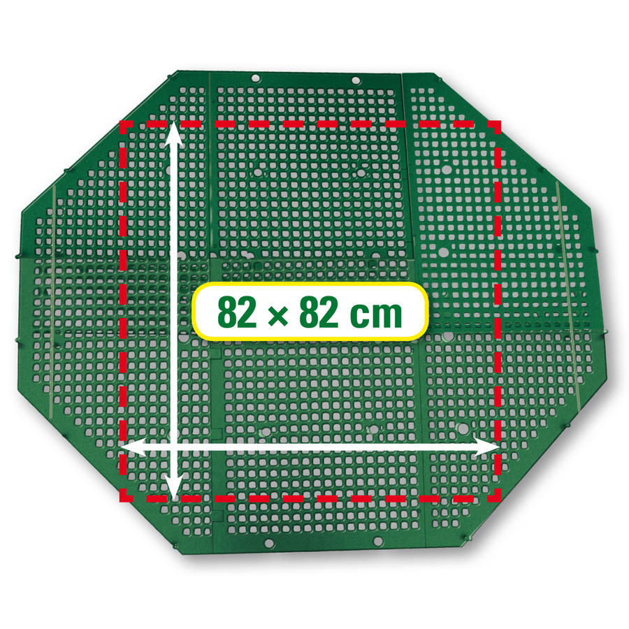 Exaco Plastic Stationary Bin Composter