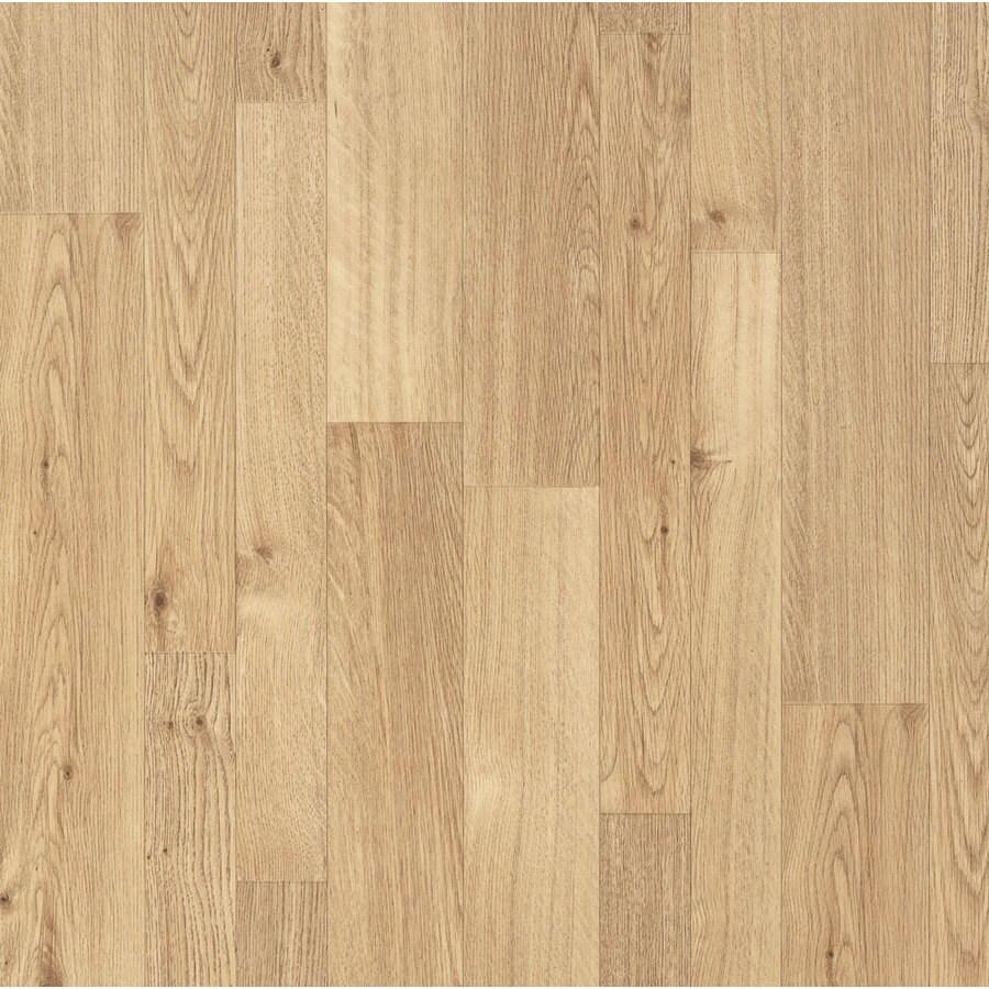 Armstrong 12-ft W Rochade Medium Wood Low-Gloss Finish Sheet Vinyl