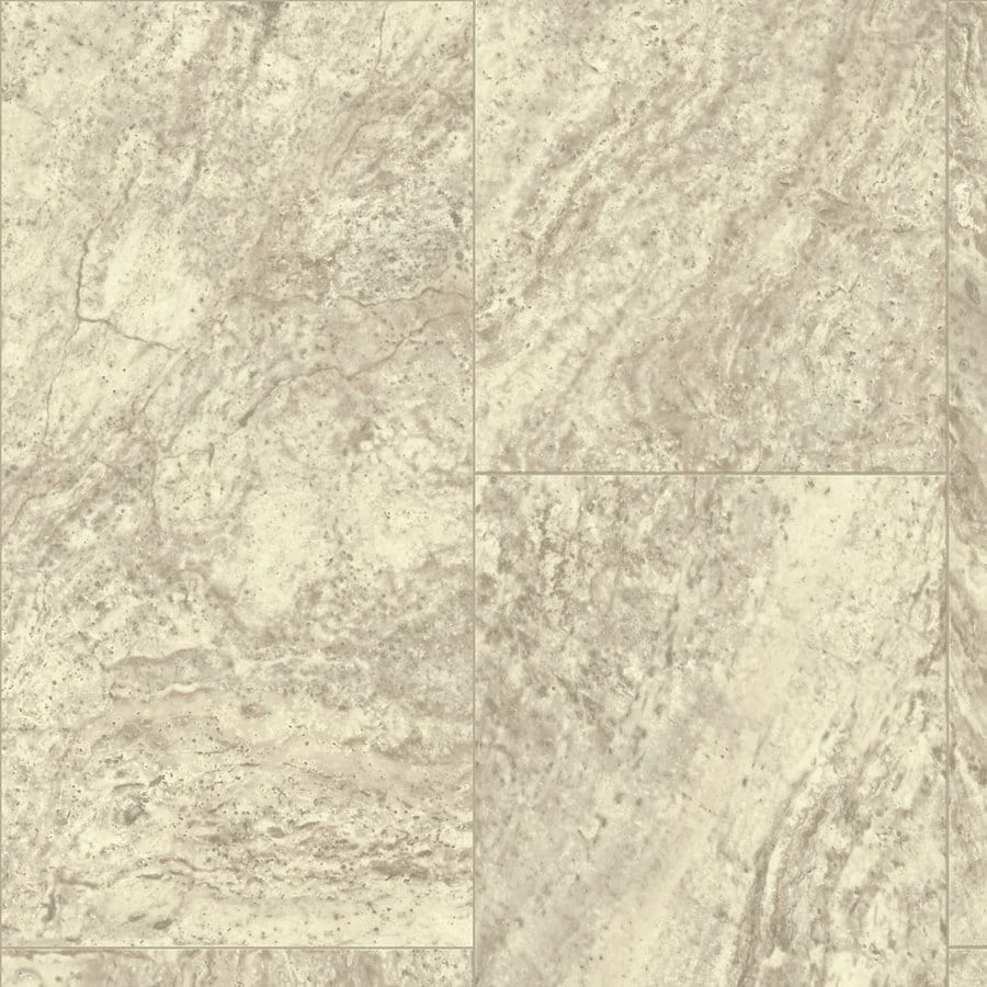 Armstrong 12-ft W Sandy Hearth Tile Low-Gloss Finish Sheet Vinyl