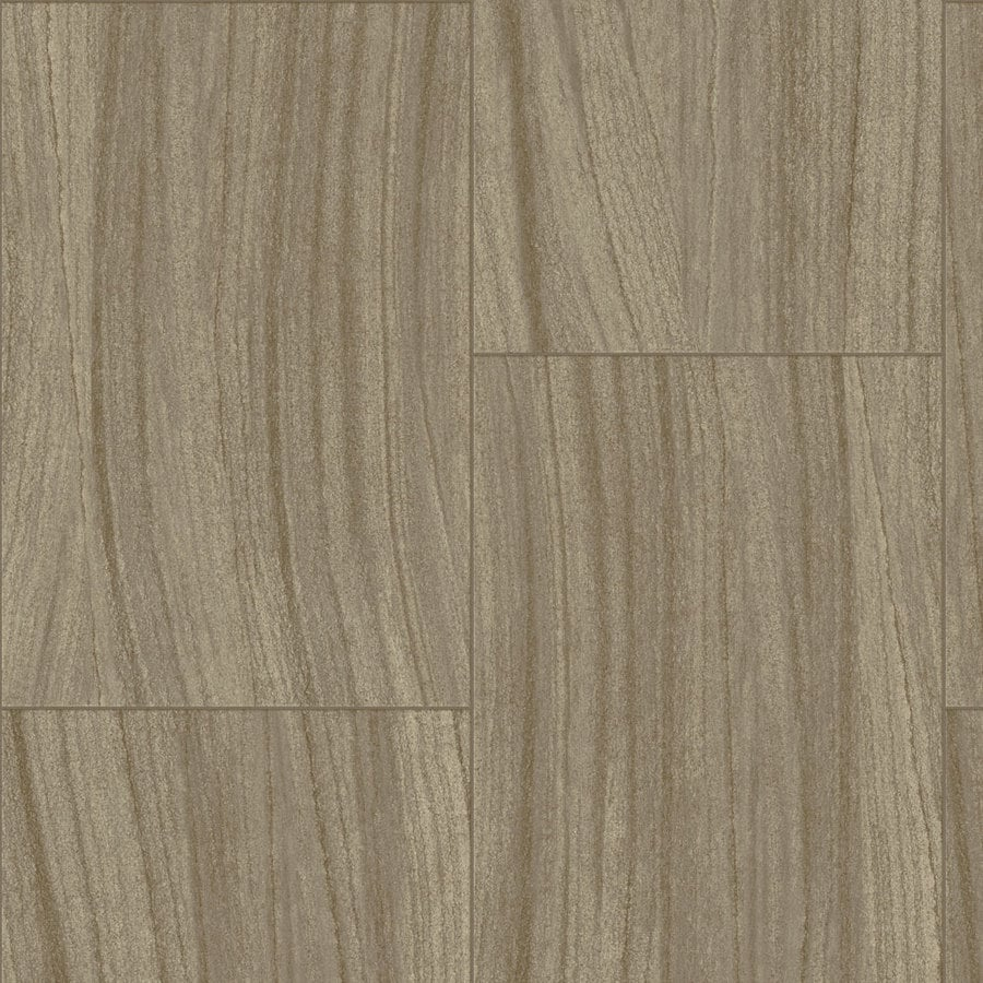 Armstrong 12-ft W Tanned Wallow Stone Low-Gloss Finish Sheet Vinyl