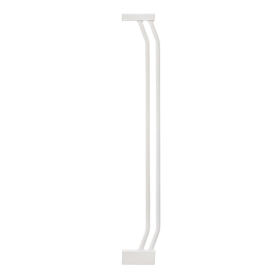 Dreambaby Chelsea Auto-Close 3.5-in x 29.5-in White Metal Child Safety Gate