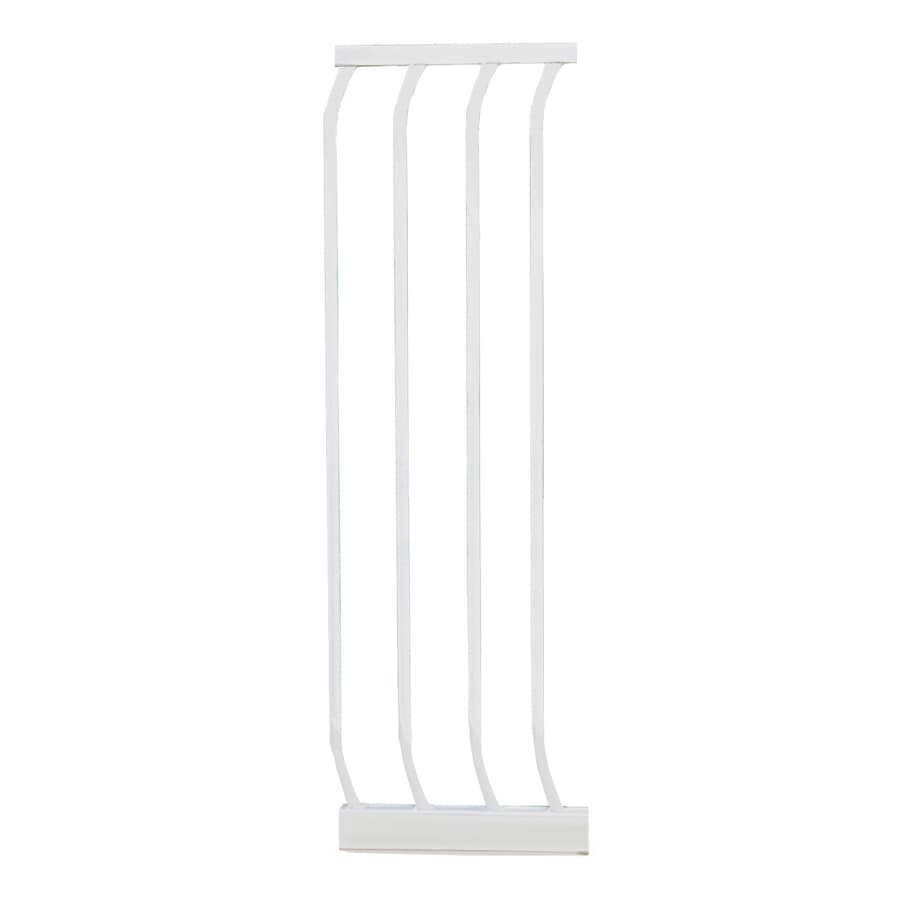 Dreambaby Chelsea Auto-Close 10.5-in x 29.5-in White Metal Child Safety Gate