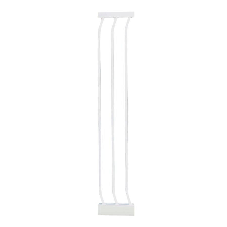 Dreambaby Chelsea Tall Auto-Close 7-in x 39.5-in White Metal Child Safety Gate