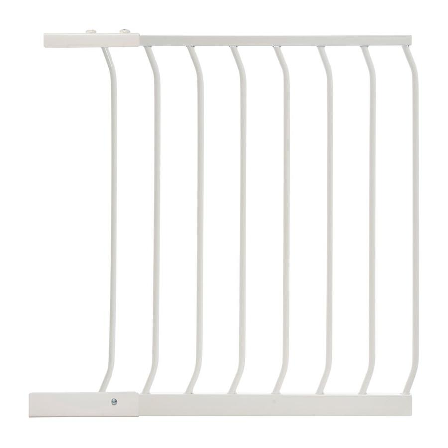 Dreambaby Chelsea Auto-Close 24.5-in x 29.5-in White Metal Child Safety Gate
