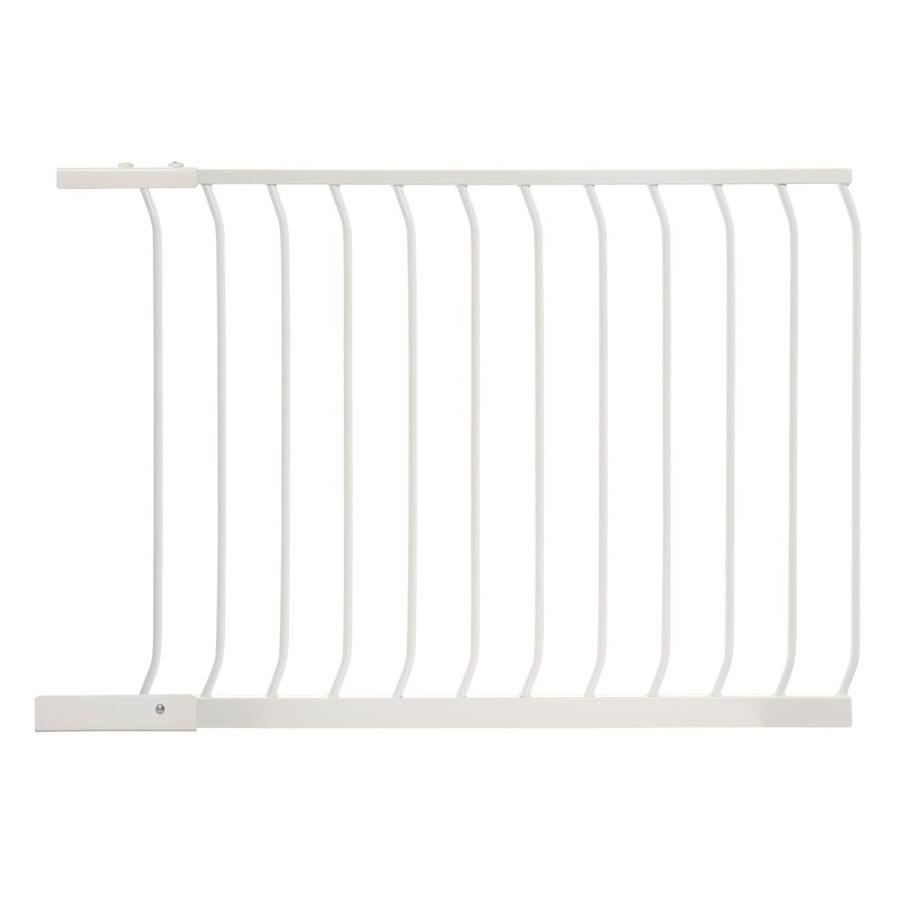 Dreambaby Chelsea Auto-Close 39-in x 29.5-in White Metal Child Safety Gate