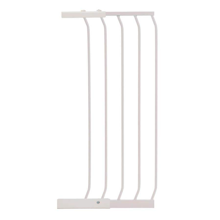 Dreambaby Chelsea Tall Auto-Close 14-in x 39.5-in White Metal Child Safety Gate