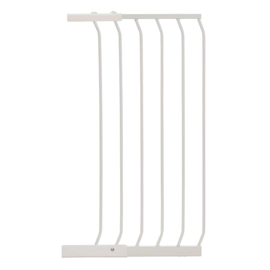 Dreambaby Chelsea Tall Auto-Close 17.5-in x 39.5-in White Metal Child Safety Gate