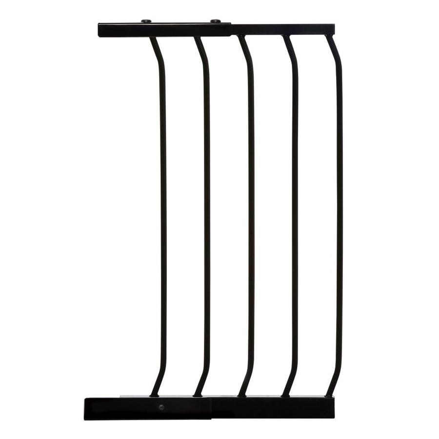 Dreambaby Chelsea Auto-Close 14-in x 29.5-in Black Metal Child Safety Gate