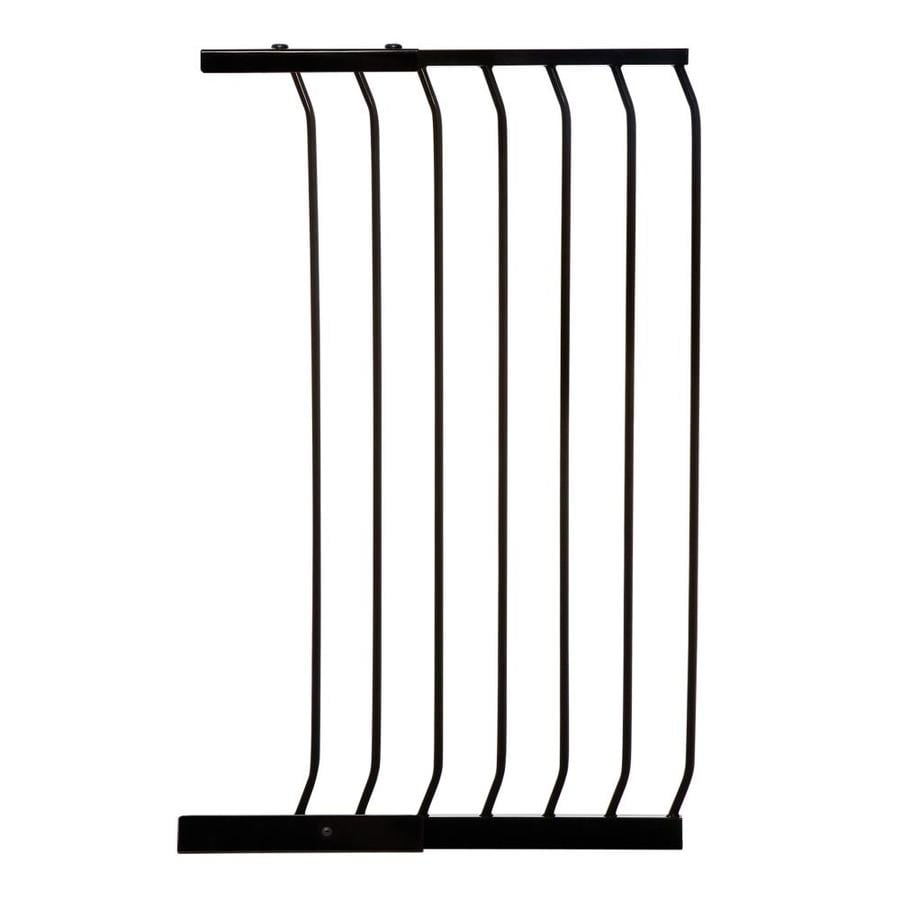 Dreambaby Chelsea Tall Auto-Close 21-in x 39.5-in Black Metal Child Safety Gate