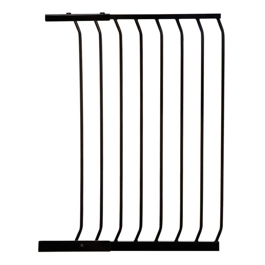 Dreambaby Chelsea Tall Auto-Close 24.5-in x 39.5-in Black Metal Child Safety Gate