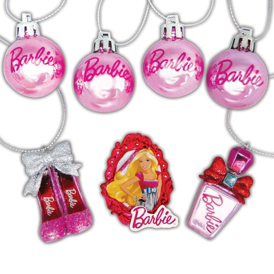 Barbie Ornament Set Lights