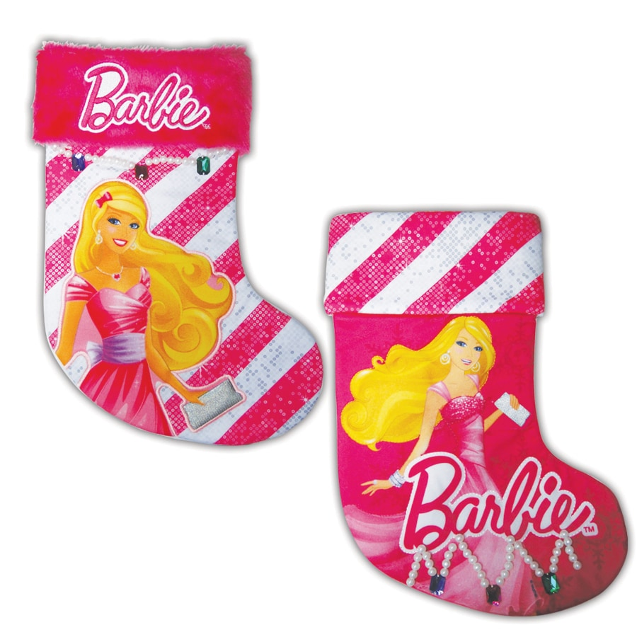 Barbie 16-in Christmas Stocking