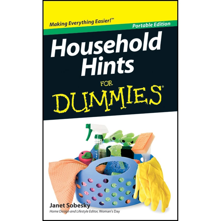 John Wiley & Sons Household Hints for Dummies
