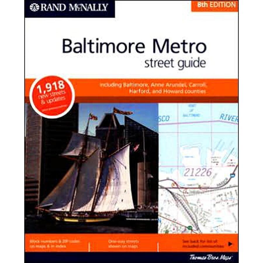 Baltimore Metro Street Guide (8th Ed.)